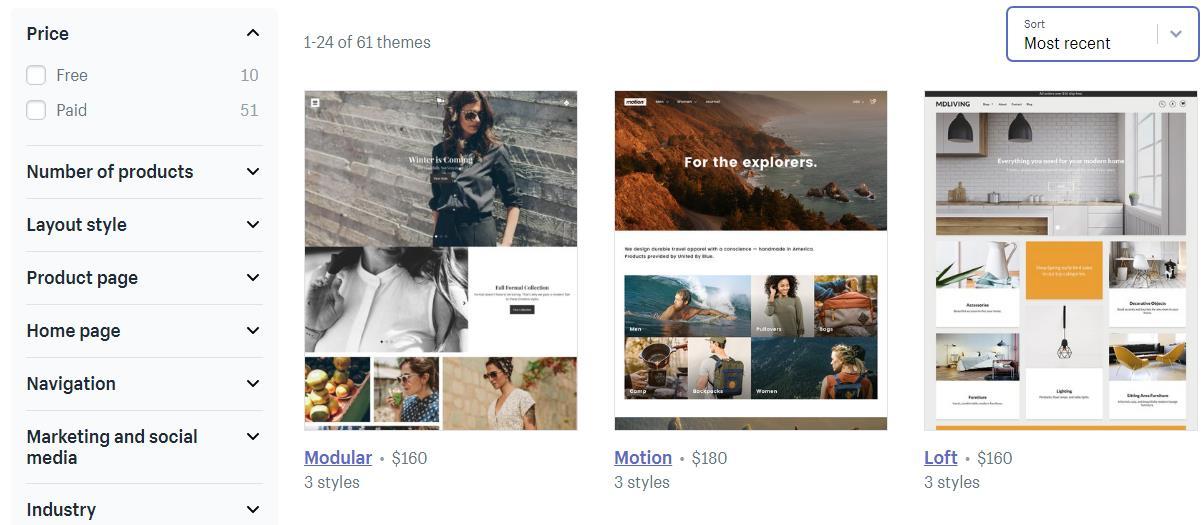 Shopify主题安装与设置
