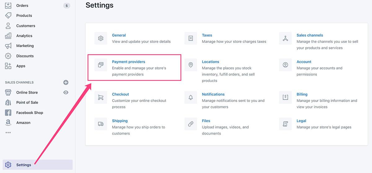 PayPal企业账户绑定到Shopify后台