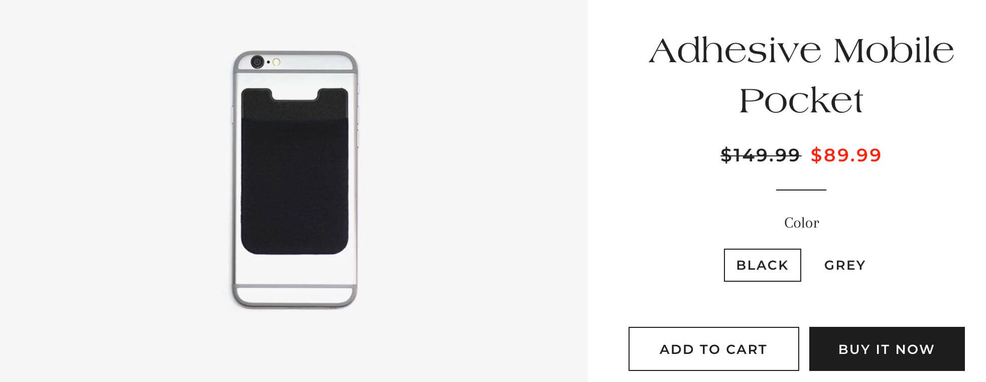 Shopify产品定价