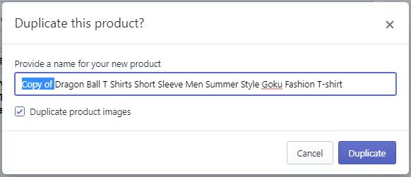 Shopify批量上传产品